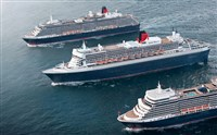Cunard's 'The 3 Queens' Southampton
