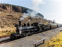 Brecon Mountain Railway and Abergavenny